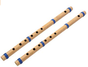 Surjan Singh & Sons Bamboo Flute C Scale (Natural)