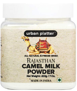 Urban Platter Freeze Dried Lactose and Gluten Free Natural Camel Milk Powder